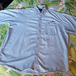 EUC Guy Harvey Denim Shirt